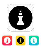 Chess Queen icon. — Stock Vector