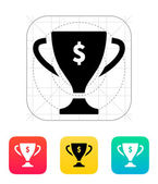 Champions cup icon. — Stock Vector