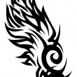 Tribal tattoo — Stock Vector #20991861