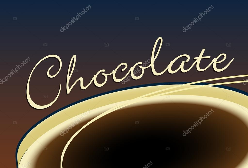 Chocolate background — Stock Vector #20991243