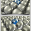 Sphere Background Set — Stock Photo