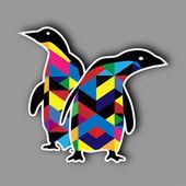 Penguin Design — Stock Vector