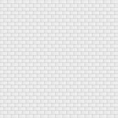 White brick wall — Stock Vector