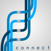 Connect — Stock Vector