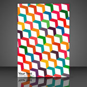 Creative flyer — Stock Vector