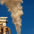 Factory chimney with smoke — Stock Photo #28321419