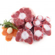 Tail raw beef for stew — Stock Photo