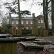 Bronte Parsonage Museum, in Haworth, Yorkshire, UK — Stock Photo
