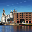 Albert Dock, Liverpool, UK - Stok fotoğraf