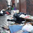 Stock Photo: Dirty back street alley