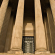 Impressive sandstone columns — Stock Photo