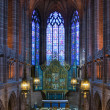 Stock Photo: Lady Chapel inside Liverpool Cathedral