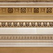 Intricate sandstone cornice work — Stock Photo
