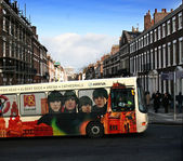 Autobus liverpool 2008 — Zdjęcie stockowe