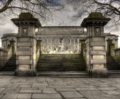 HDR view of St Georges Hall Liverpool, UK — Stock Photo