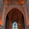 Stock Photo: Inside Liverpool Cathedral