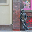 Stock Photo: John Lennon statue outside Cavern Club