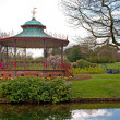 Victorian Bandstand in Sefton Park, Liverpool — Stock Photo