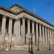 Royalty-Free Stock Photo: Exterior of St Georges Hall, Liverpool, UK.