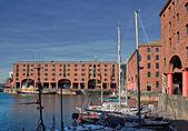 View of Albert Dock, Liverpool, UK — Stock Photo