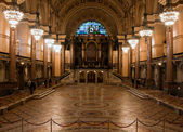 Interior of St Georges Hall, Liverpool, UK. — Stock Photo