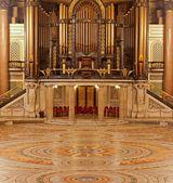 Wnętrze st georges hall, liverpool, wielka brytania — Zdjęcie stockowe