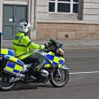 British motorcycle police — Stock Photo