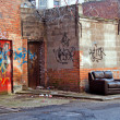 Stock Photo: Inner city dereliction