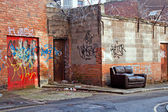 Inner city dereliction — Stock Photo