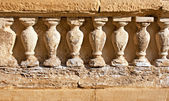 Weathered sandstone columns — Stock Photo