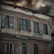 Spooky old derelict house — Stock Photo #21868013
