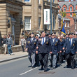 World War 2 veterans marching in Liverpool, UK — Stock Photo #25944751