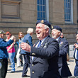 Stock Photo: World War 2 veterans marching