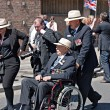 World War 2 veterans marching in Liverpool, UK — Stock Photo #25950715