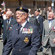 World War 2 veterans marching in Liverpool, UK — Stock Photo #25956693