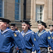 Russiseamen marching through Liverpool — Stock Photo #25957047