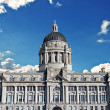 Stock Photo: Port of Liverpool building