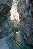 Entrance to Saklikent Gorge in Turkey — Stock Photo