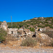Old abandoned Greek,Turkish village of Doganbey, Turkey — Stockfoto