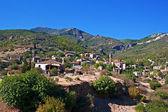 Old abandoned Greek,Turkish village of Doganbey, Turkey — Stock Photo