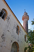 Old mosque in the abandoned Greek,Turkish village of Doganbey, Turkey — Foto Stock