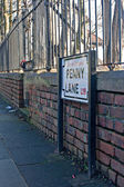 Penny Lane, Liverpool, UK — Stock Photo
