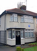 "Liverpool, UK, January 17 2014- ""Mendips"" The childhood home of — Stock Photo"
