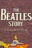 The Beatles Story Exhibition Sign — Stock Photo