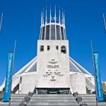 Metropolitan Cathedral, Liverpool, UK — Stock Photo #45412745