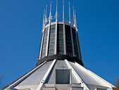 Metropolitan Cathedral, Liverpool, UK — Stock Photo