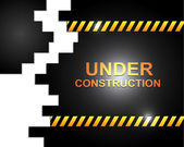 Under construct — Stock Vector