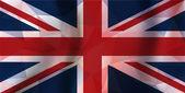 England polygonal flag — Stock Vector