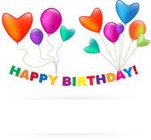 Happy Birthday balloon — Stock Vector