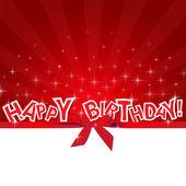 Celebrate Happy Birthday card — Stock Vector